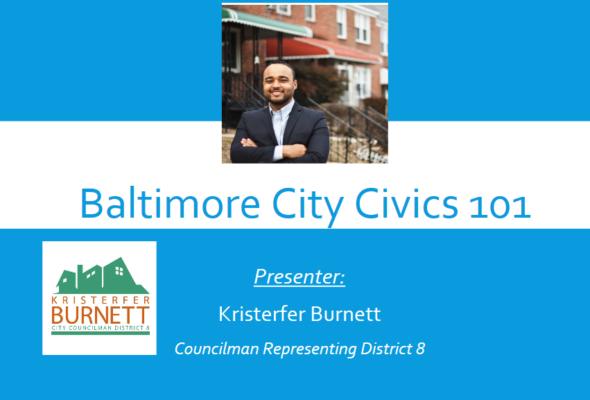 Baltimore Civics 101 – March 2017