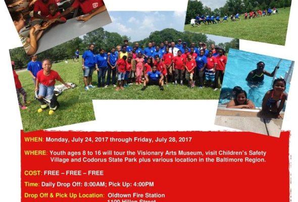 Baltimore City Fire Camp 2017