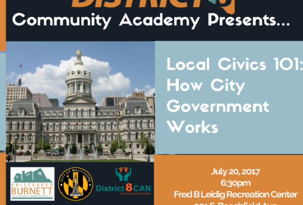 Civics 101: How City Government Works 7/20/2017