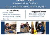 Housing Authority of Baltimore City Job Fair 12/9/17