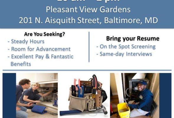 Housing Authority of Baltimore City Job Fair 12/9/17