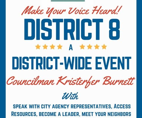 District 8 Townhall 2018
