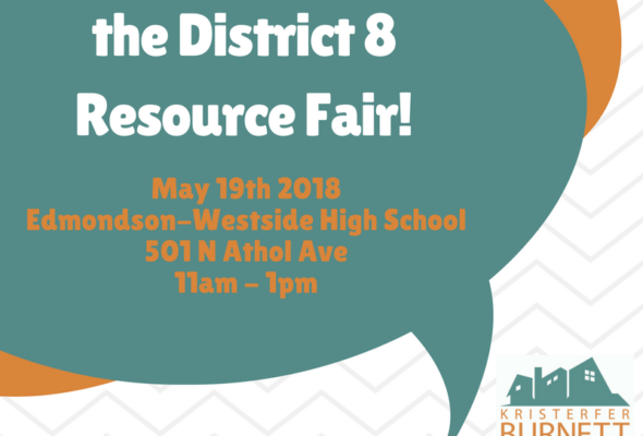 District 8 Resource Fair 5/19