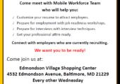Mobile Workforce Center